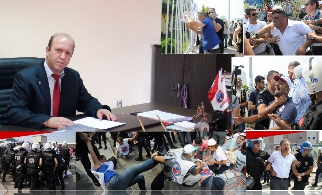 Birleşik Kamu-İş Genel Özlük Hukuk ve TİS Sekreteri Engin Çoğal: Polis Şiddetini Kınıyorum